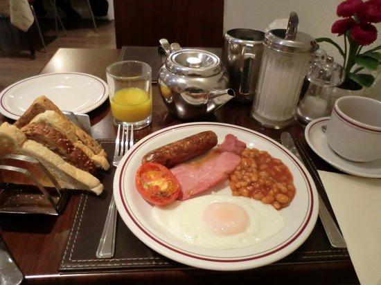 Arosfa Hotel: 朝食です。
