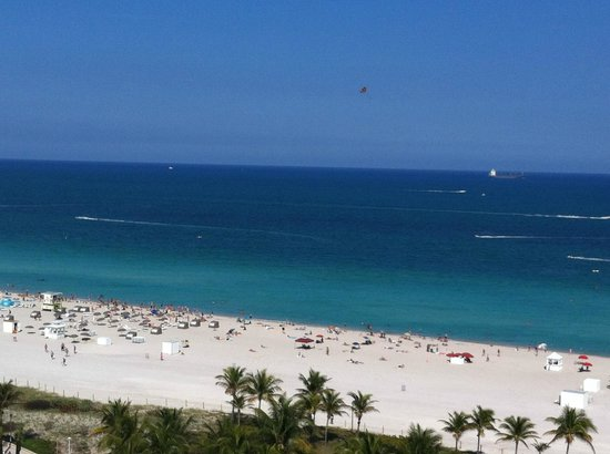 Loews Miami Beach Hotel: Beautiful view from balcony
