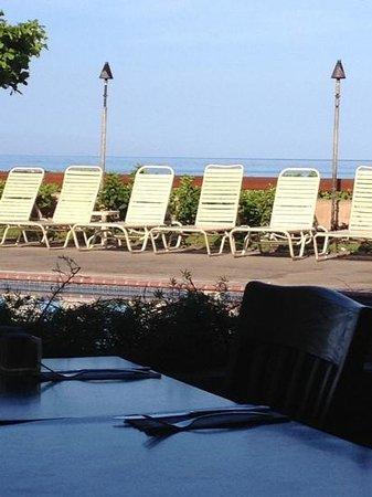 Sands of Kahana Terrace Restaurant: from the restaurant