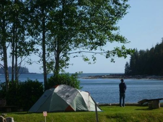 Mussel Beach Campground: time to unwind