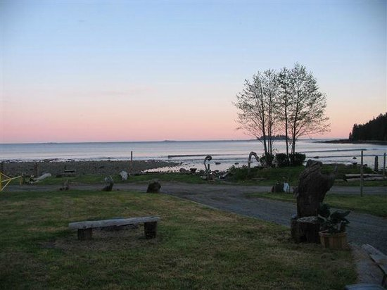 Mussel Beach Campground: beautiful sunsets