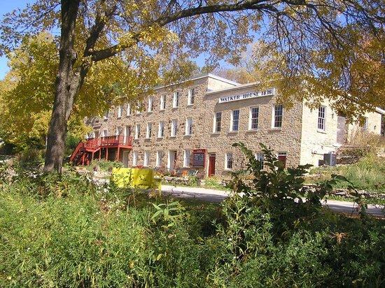 The Walker House - Fall Scene