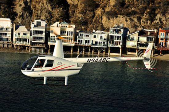 Group 3 Aviation: Malibu coastline from a helicopter