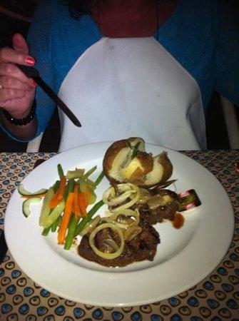 Pier 1: steak