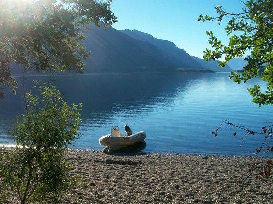 Hosteria Futalaufquen: El lago...