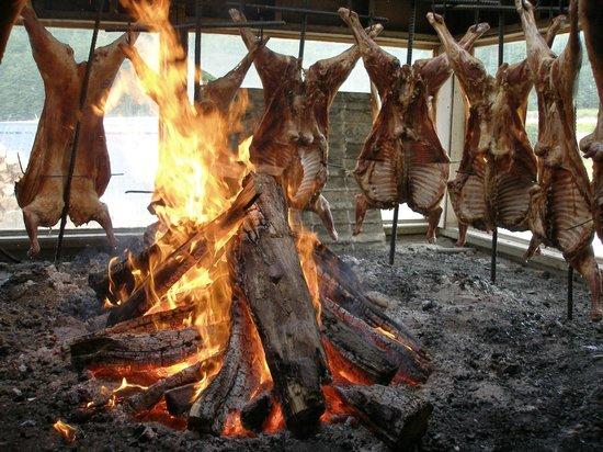 Tierra Mayor Restaurant: Cordero al asador