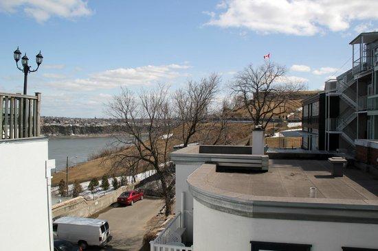 Manoir Sur-le-Cap : View from room #15 patio