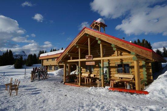 Assiniboine Lodge: The lodge