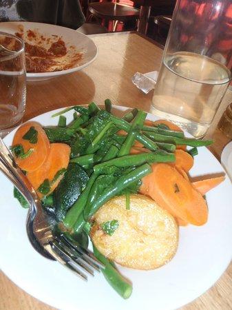 Parlamento: Side Dish of Veggies