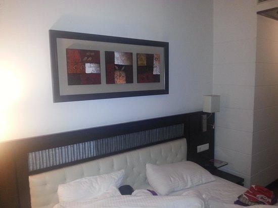 Chandigarh Ashok: The interiors of the room