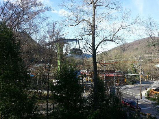 Oak Square at Gatlinburg: View from our front door