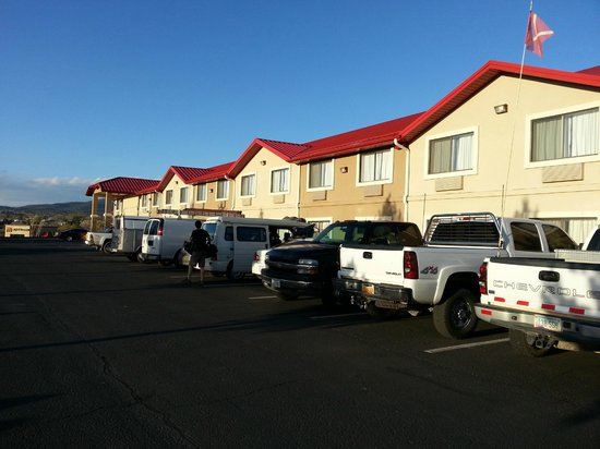 Comfort Inn Near Gila National Forest: Newly Done Parking Lot 3