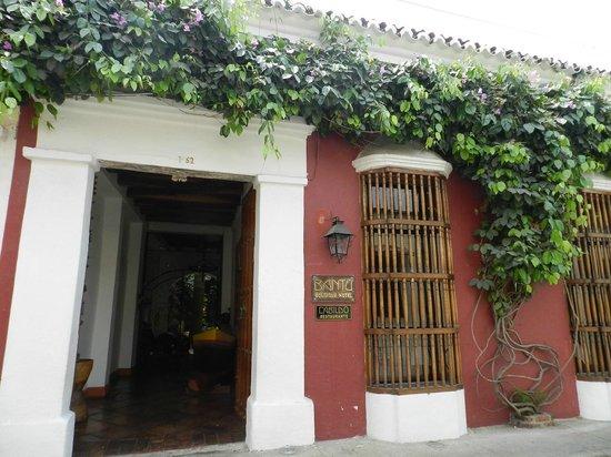 Bantu Hotel By Faranda Boutique: Hotel Entrance