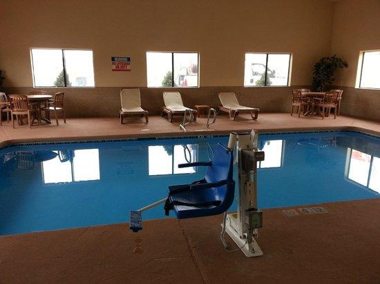 Comfort Inn Near Gila National Forest: Indoor Swimming Pool 1