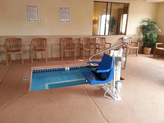 Comfort Inn Near Gila National Forest: Indoor Spa 1