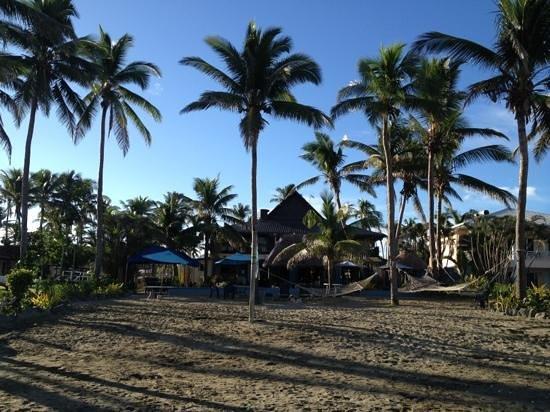 Aquarius On The Beach: beach view of the hotel