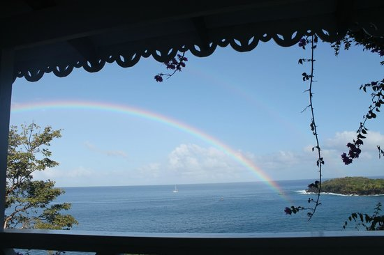Ti Kaye Resort & Spa: Rainbows every single day