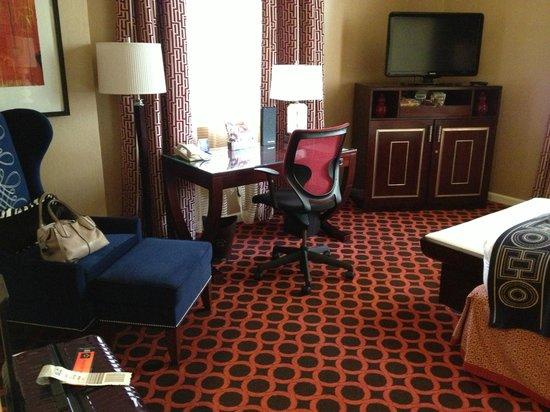 Hotel Monaco Salt Lake City - a Kimpton Hotel: Fun, stylish decor. Very typically Kimpton!