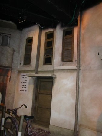Museo Palmach: vista de casa