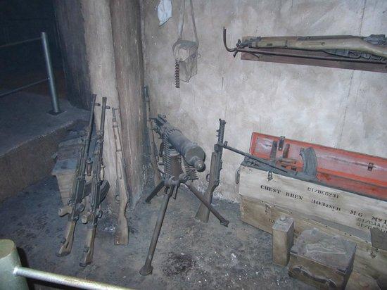 Museo Palmach: armamento