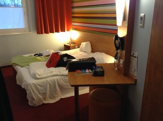 B&B Hotel Rhynern-Nord: Nous avons très bien dormi.