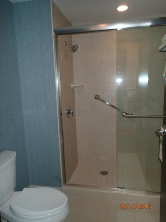 Hyatt Place Columbus/OSU: walk in shower