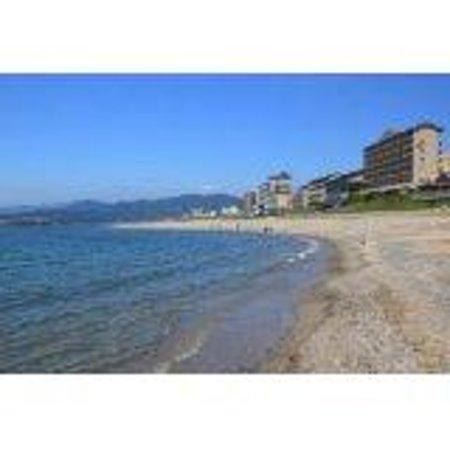 Senami Onsen Beach Photo