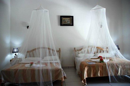 Villa Veuve : La velatura non è servita non c'erano zanzare