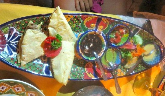 Maria Jimenez Restaurante Mexicano: steak quesadillas