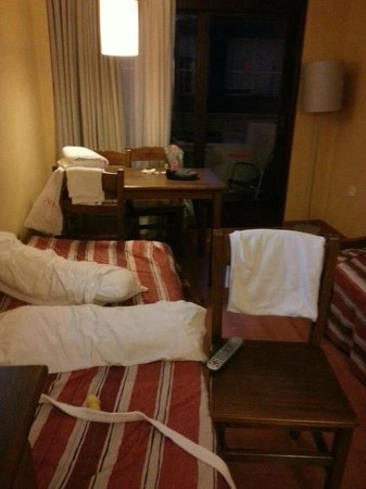 Parot Quality Apartments : living/bedroom