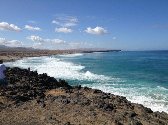 Lagunas y Playa de El Cotillo: panorama