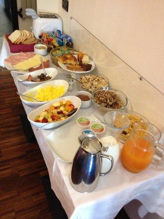 Super morgenmad på Merulana Inn
