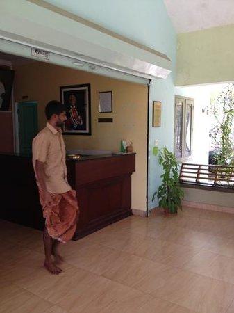 Pattarumadom Ayurveda: reception area
