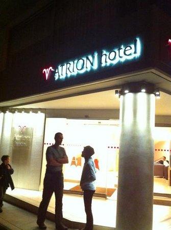โรงแรมเอเทรียน: Hotel Entrance