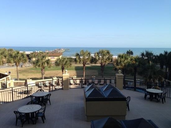 DoubleTree Resort by Hilton Myrtle Beach Oceanfront: view from our second floor balcony