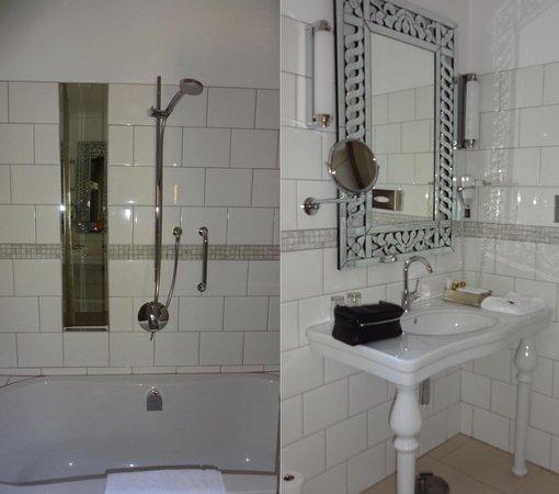 Hotel Heinitzburg: Badezimmersichten Zimmer 8