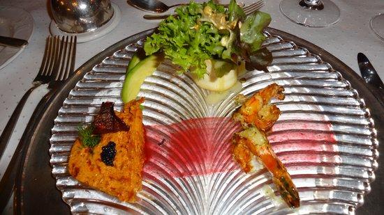 Hotel Heinitzburg: Vorspeise im Leo's (Gourmet Menü)