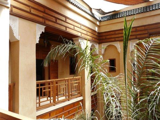Al Ksar Riad & Spa : 1er étage du Riad