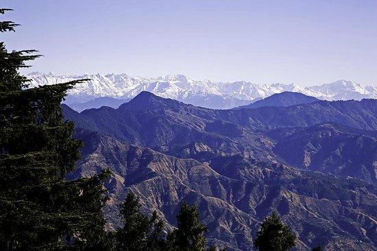 Mashobra, Indien: View of the Mountains