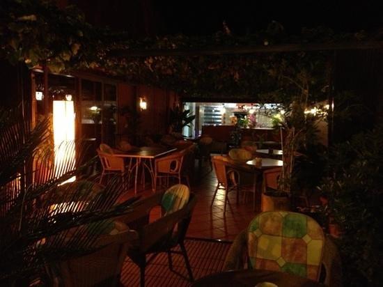 casa juanita : terraza
