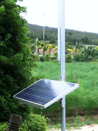 Chang Hua Man Royal Project: Solar cells