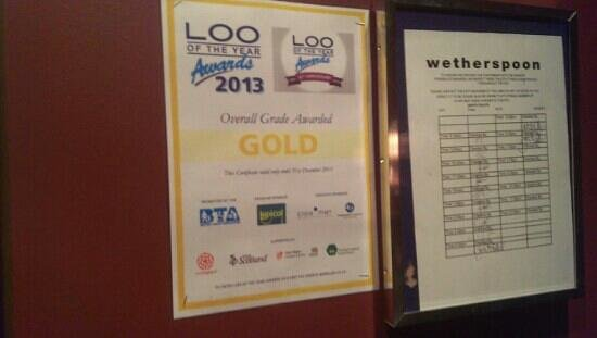 The Job Bulman, Gosforth - JD Wetherspoon: loo of the year, great loo!