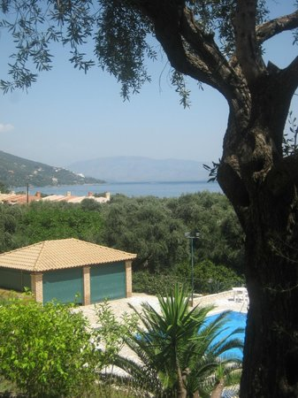 Barbati Beach Apartments : View from the room terrace