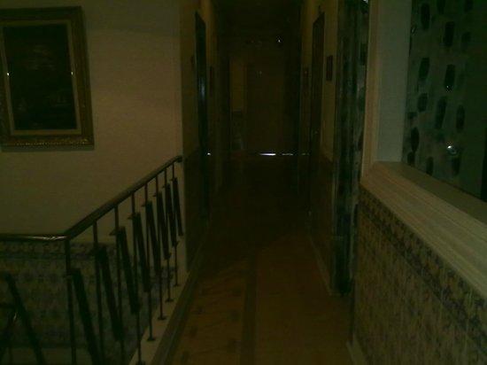 Residencial Sul-Downtown: винтажные....но узенькие коридоры)