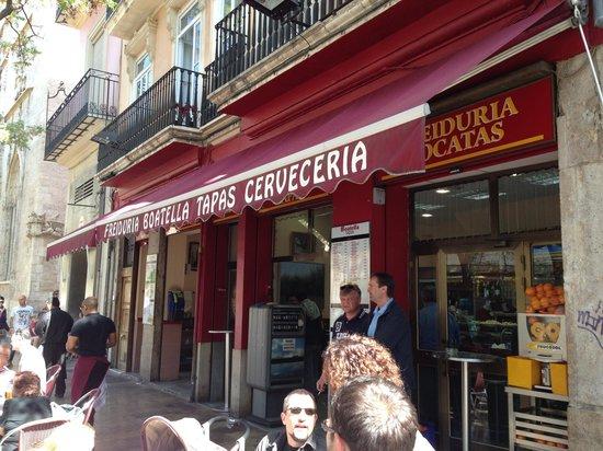 Boatella Tapas: Entrada