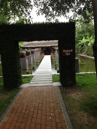Pilgrimage Village : Where I had the very best massage of our trip