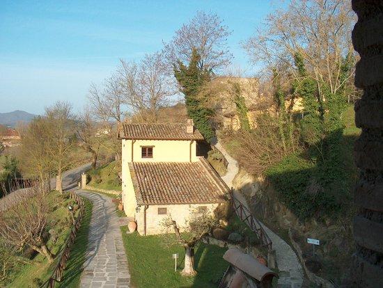 Lerchi, Włochy: Vista dalla camera