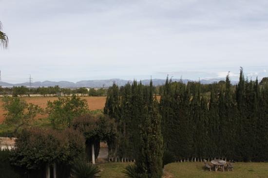 Posada d'es Moli: die Berge