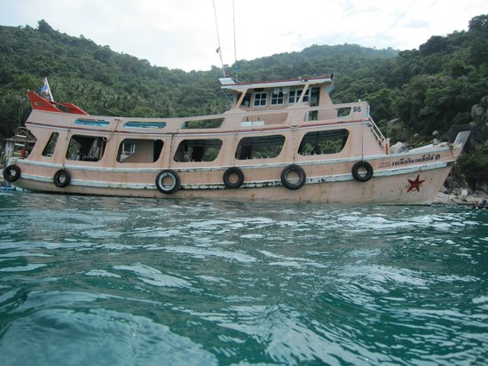 Asia Divers Resort: Our dive boat