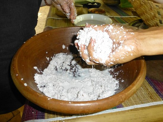Green Kitchen: Getting the coconut grated and ready to prepare coconut milk